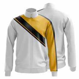 Sublimated Zip Front Jacket 001 - Custom Made Uniforms