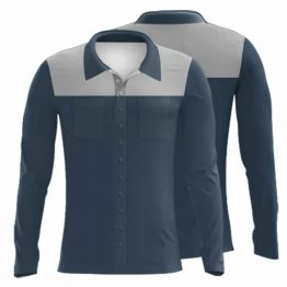 Sublimated Cotton Drill Workwear Shirt 001 - Custom Made Uniforms