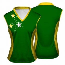 Sublimated Netball Vest 006 - Custom Made Uniforms