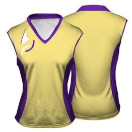 Sublimated Netball Vest 002 - Custom Made Uniforms