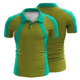 Sublimated Swimming Polo Shirt 002 - Custom Made Uniforms
