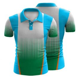 Sublimated Swimming Polo Shirt 003 - Custom Made Uniforms